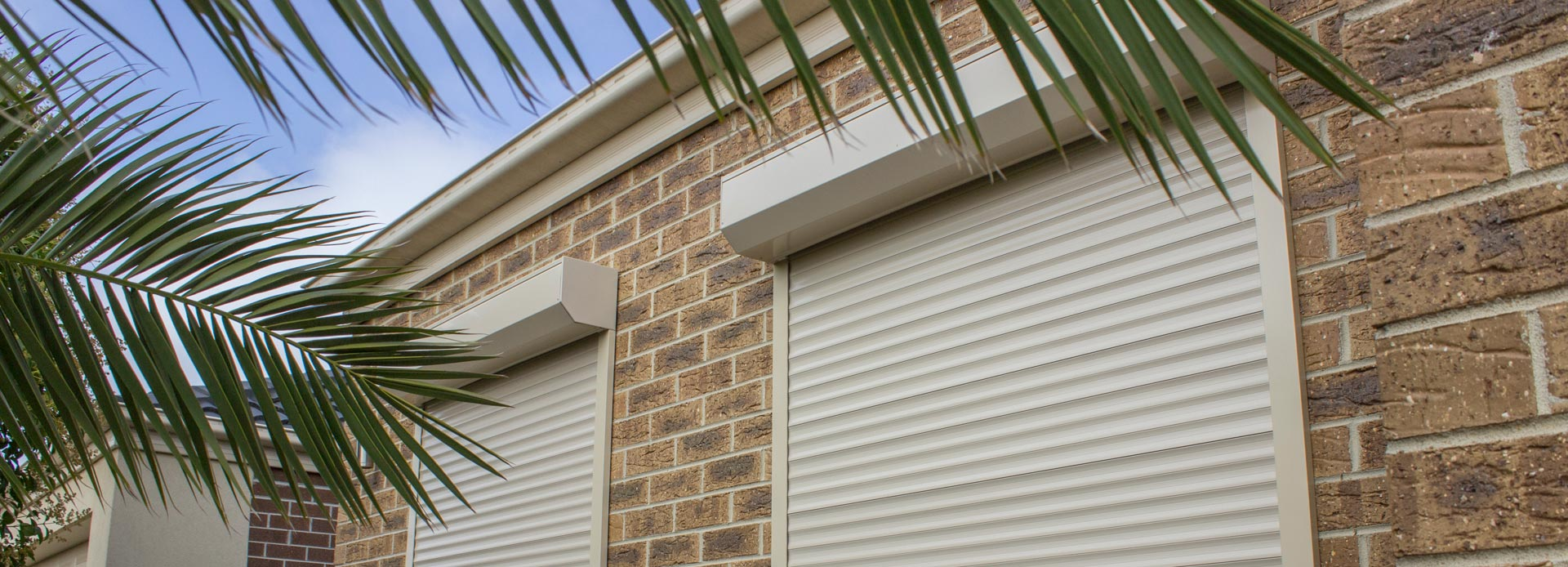 Off-white Roller Shutters